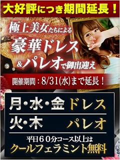 【期間延長】豪華ドレス&パレオで御出迎え_300-400