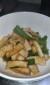 笹かまボーヤのお手軽キッチン~お酒がすすむ【厚揚げとピーマンの炒め物】